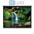 (4:3) DELUXX Advanced SlowMo Rolloleinwand 171 x 128 cm 001